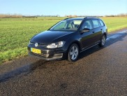 VW Golf 7 - 1,6 tdi - 30,3 KM/L BLUEMOTION  stationcar - van